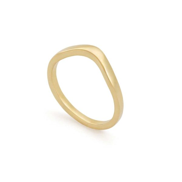 Female 18ct Yellow Gold Wedding Band